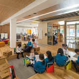 Health & Education: Our Lady of the Assumption Catholic Primary School Stage 1 | North Strathfield, NSW, Australia by BVN. Photo courtesy of INSIDE - World Festival of Interiors.