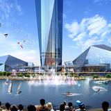 Water show (Image: GDS Architects, CG: Rayus)
