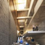 Interior rendering (Image: AAKAA & MARS Architectes)
