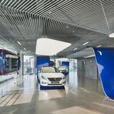 Display: Hyundai MotorStudio | Seoul, South Korea by Suh Architects. Photo courtesy of INSIDE - World Festival of Interiors.