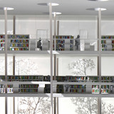 Model, close-up books (Image: jaja architects)