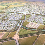 Nanhu New Country Village Master Plan; Nanhu District, Jiaxing, China (Illustration: Michael Reardon)