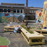 Melody STEM outdoor classroom by Latent Design.