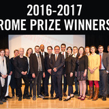 American Academy in Rome announces 2016-17 Rome Prize winners + Italian Fellows