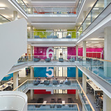 5 Pancras Square, N1C by Bennetts Associates (also winner of the RIBA London Sustainability Award). Photo: Hufton + Crow