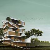 Honorable Mention: Microhousing/Macropossibilities by A43 Arquitectura