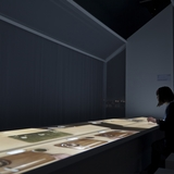 Lart de Rosanjin exhibition design by Ryusuke Nanki. Image courtesy of Ryusuke Nanki.