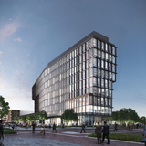 Rendering of Cummins Indy Distribution Headquarters; Indianapolis, Indiana. Image Credit: Deborah Berke Partners