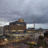 Library of Birmingham by Mecanoo (exterior-context)