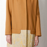 Fall_Winter 2011 Collection – felted wool coat dipped in concrete.