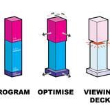 Diagram, massing (Image courtesy of OMA)