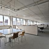 Aufbau Haus 84 in Berlin, Germany by Barkow Leibinger; Photo: Ina Reinecke/ Barkow Leibinger