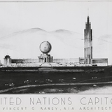 United Nations complex, designed by Vincent G. Raney's (1945). Courtesy of Architizer.