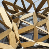 Copagri Pavilion 'Love IT' for Expo Milano 2015 in Milan, Italy by Miralles Tagliabue EMBT; Photo: Marcela Grassi