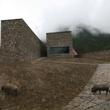 Namchabawa Visitor Center Tibet 2007-08 Photo by: Chen Su