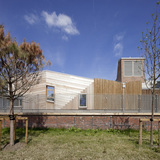 Sandal Magna School in Wakefield, Yorkshire, UK by Sarah Wigglesworth Architects; Project Architect- Mark Hadden