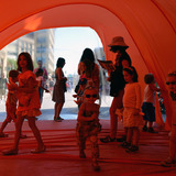 Orange Glow project by Latent Design.