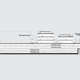 Section. Image: Dror + Gensler.
