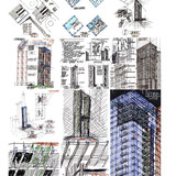 Sketches (Image: Murphy/Jahn Architects)