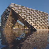 """BIG + BARCODE Architects to design cascading """"Sluishuis"""" building in Amsterdam"""