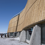 Cultural Centre of Greenland in Nuuk, Greenland by schmidt hammer lassen architects; Photo: Peter Barfoed