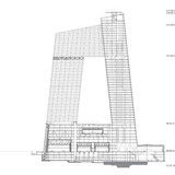 CCTV/OMA - Section A-A, Image courtesy of OMA