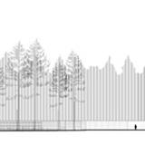 Terrain section AA