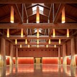 Traditional Use of Wood: Muckleshoot Smokehouse in Auburn, WA. Architect – Mahlum. Photo courtesy of WoodWorks