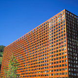 The New Aspen Art Museum by Shigeru Ban. Photo by David X Prutting/BFAnyc.com