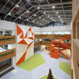 Cheetah Mobile global office headquarters in Beijing, China by IDEAL Design & Construction