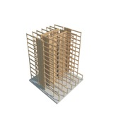 Timber core, frame, floor