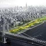 Global Holcim Awards Bronze 2015: The Dryline: Urban flood protection infrastructure | New York City, USA By Bjarke Ingels and Kai-Uwe Bergmann, BIG – Bjarke Ingels Group (Denmark/USA), One Architecture (Amsterdam) and team.