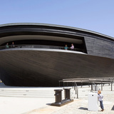 South: Mary Rose Museum by Wilkinson Eyre Architects with Pringle Brandon + Will. Photo: Richard Chivers