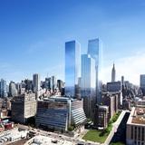 Five Manhattan West. Image: Miller Hare, courtesy of REX.