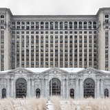 Jennifer Garza-Cuen, Reno, NV. Depot (Michigan Central Station), 2012.