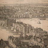Detail of a panoramic view of London by Wenceslaus Hollar, published in 1647 via Detail of a panoramic view of London by Wenceslaus Hollar, published in 1647 via Detail of a panoramic view of London by Wenceslaus Hollar, published in 1647 via Brendan Hoffman for The New York Times