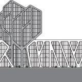 Elevation front. Image courtesy of J. MAYER H. Architects