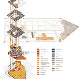 Program diagram (Image: Matteo Cainer Architects)