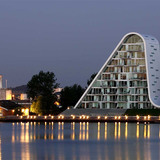 The Wave in Vejle, 2009 (Image: Henning Larsen Architects)