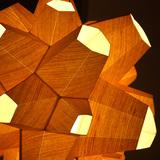 Spore Lamps in Oakland, CA by Andrew Kudless, Mariko Kobayashi (Schematic Design), Seth Barnard (Assembly)