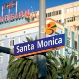 Some of Sussman's graphical work for the City of Santa Monica, image via sussmanprejza.com.