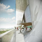 Sky Terrace Cafe (Image: UNStudio)