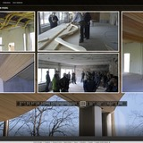 Screen shot of the Google Cultural Institutes The Restoration of Alvar Aalto Library in Vyborg.