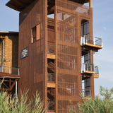 Russell W. Peterson Urban Wildlife Refuge Education Center by GWWO Architects