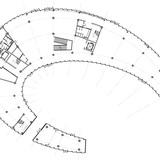 Floor plan: art pavilion. Image courtesy of Chris Y.H. Chan
