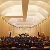 Paper Concert Hall, 2011, L'Aquila, Italy (by Shigeru Ban) Photo by Didier Boy de la Tour