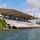 Miami Marine Stadium - Side view of Stadium. Credit: Rick Bravo
