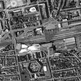 Project site at Rennes railway station in Rennes, France. Image courtesy of a/LTA.