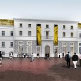 Exterior rendering (Image: Alejandro Zaera-Polo Architecture)
