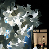 As Autumn Leaves by LCD at Beijing Design Week 2013. Image courtesy of LCD.